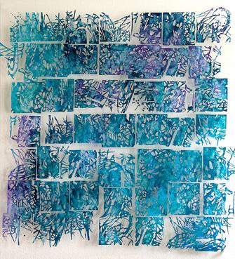 MINYA MIKIC BLUE MARBLE