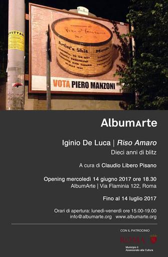 IGINIO DE LUCA - RISO AMARO - dieci anni di blitz