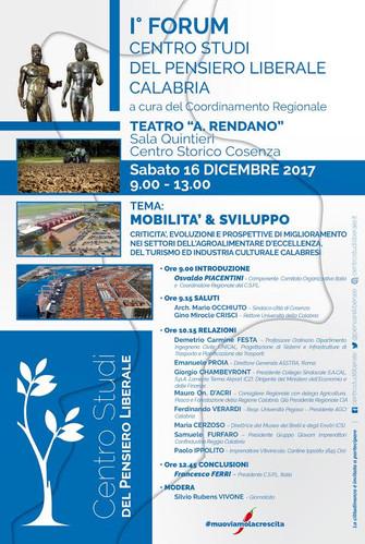 I Forum C.S.P.L. Calabria Mobilità & Sviluppo