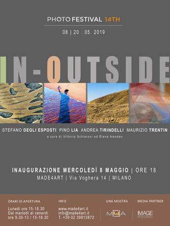 Stefano Degli Esposti, Pino Lia, Andrea Tirindelli, Maurizio Trentin In-Outside