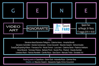 GENE video art itinerante allo Spazio Faro