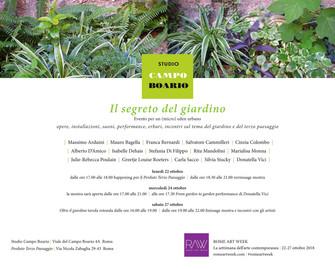 Il segreto del giardino Evento per un (micro) eden urbano