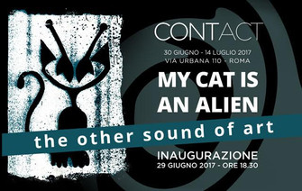 """My Cat Is An Alien, the other sound of art"""