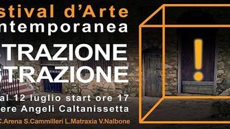 Arte - Estrazione/Astrazione Festival d'arte contemporanea Caltanissetta
