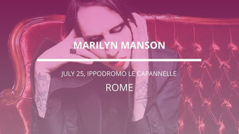 Marilyn Manson in Roma