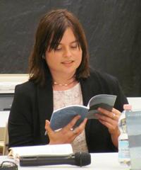 Michela Zanarella (poeta) ad Estrazione/Astrazione