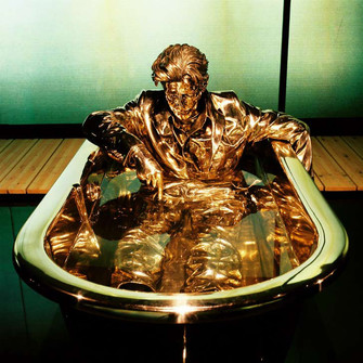 On top - Jan Fabre - The man writing on water