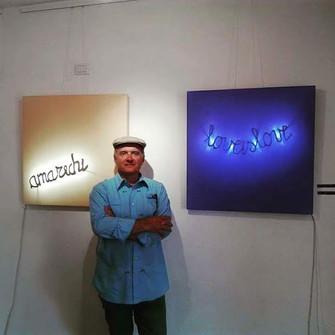 "Giuliano Cardellini ""Luce e Blu"" & Live Performance"