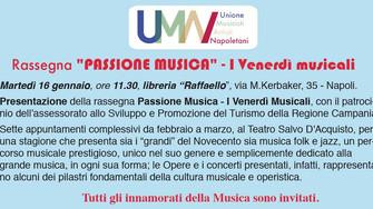 LA PASSIONE SI ACCENDE IN MUSICA AL TEATRO SALVO D'ACQUISTO DI NAPOLI