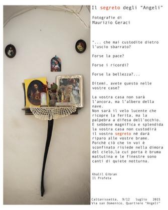 """Fotografia - Maurizio Geraci """"Il Segreto degli Angeli"""""""