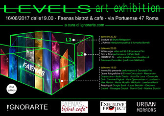 LEVELS  - art exhibition - 2nd edition