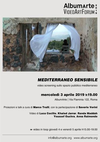 Mediterraneo sensibile Video screening sullo spazio pubblico mediterraneo