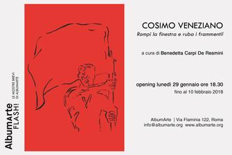 Cosimo Veneziano | Rompi la finestra e ruba i frammenti!