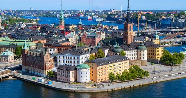 Sweden is one of the cheapest countries