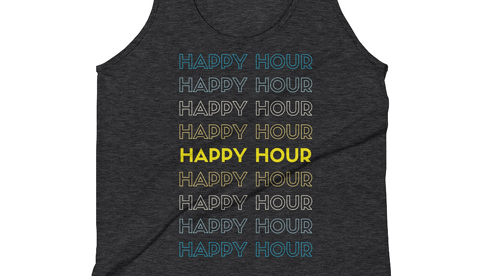 HAPPY HOUR, HAPPY HOUR! - Tank Top (unisex)