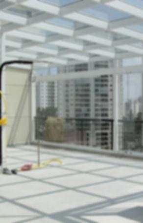 cobertura vidro