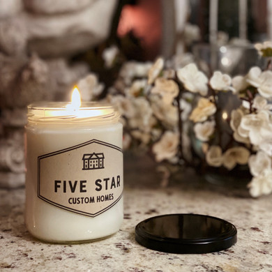 Five Star Custom Homes Candles