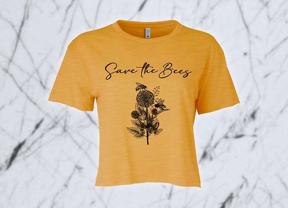 Save the Bees Crop Top