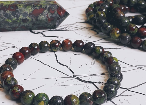 Dragon's Blood Jasper Bracelet