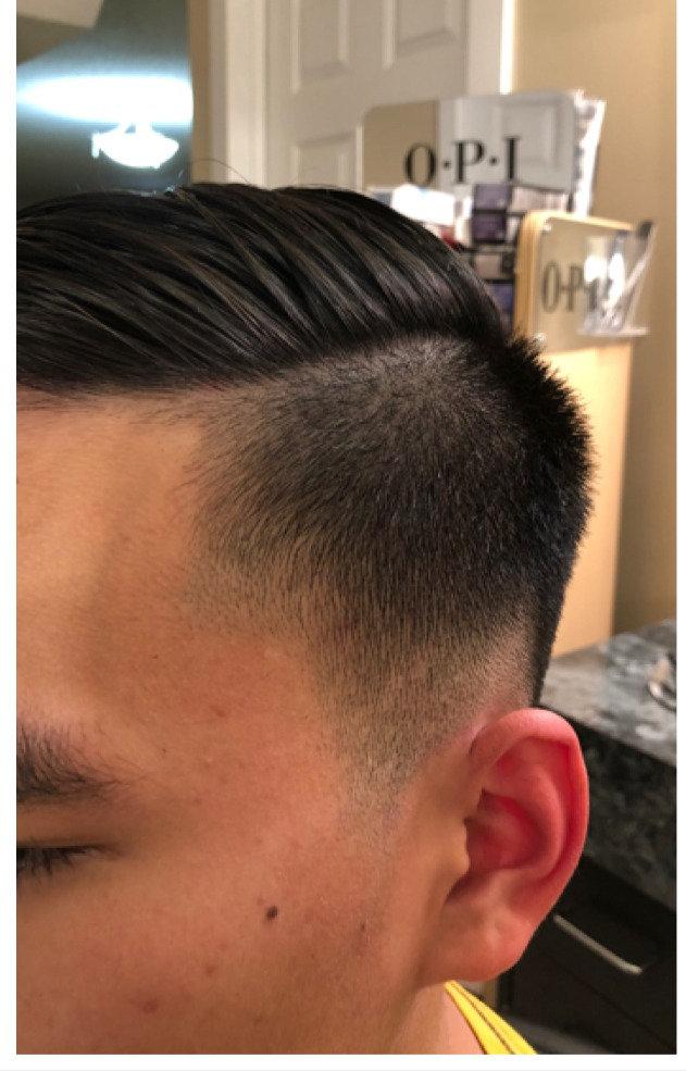 HAIR SHAPING TEEN  SHORT LENGTH