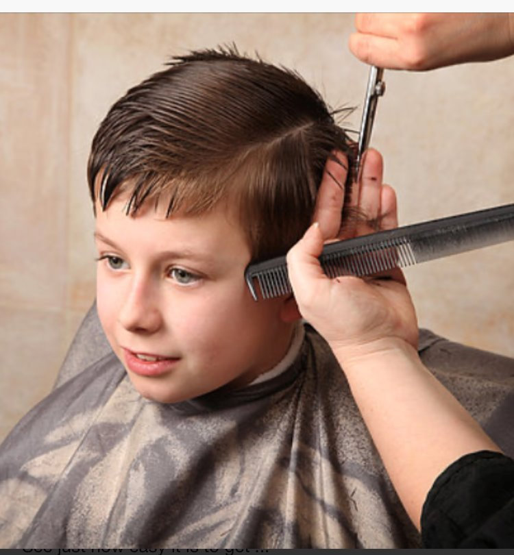 HAIR SHAPING CHILDREN