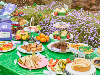 MyOptique Bake-off and Sale for MacMillan Cancer Support