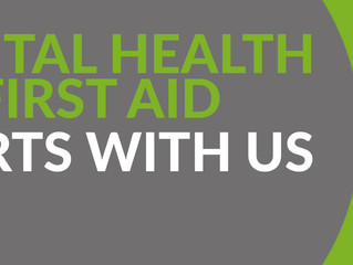 Mental Health Awareness Month - Introducing our first Mental Health First Aiders