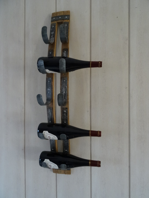 Porte bouteilles mural