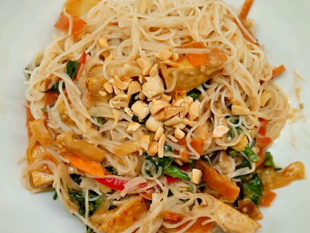 Tempeh Peanut Satay Stir-Fry