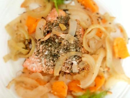 Thyme, Orange and Fennel Salmon