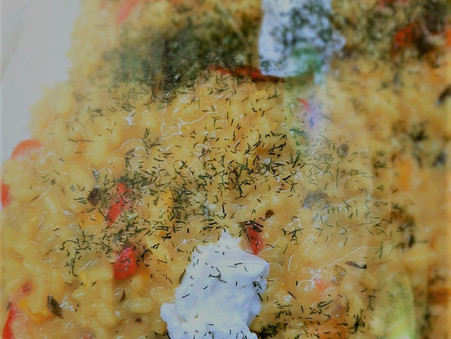Peppers and Lemon Risotto