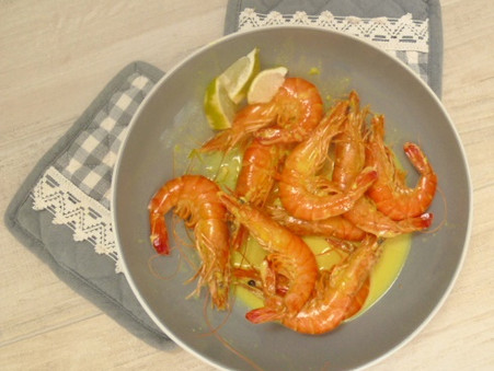 Coconut and Lime Prawns