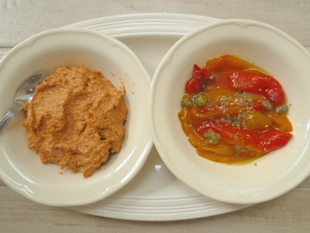Roasted Peppers - starters