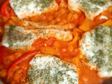 Spicy Tomato & Peppers Fish