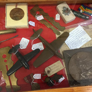 Medals and militaria