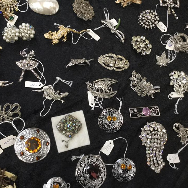 Brooches and pendants