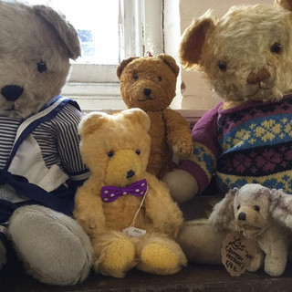 Vintage teddy bears