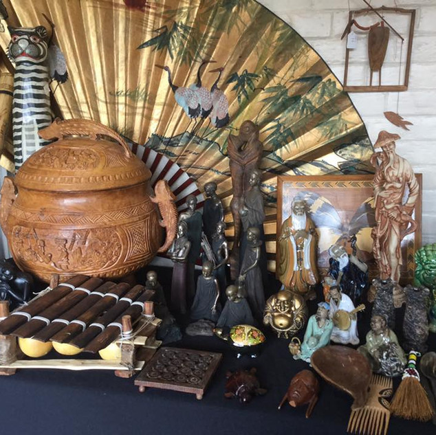 Ethnic and decorative pieces