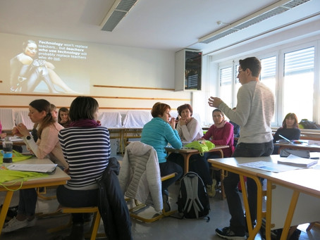 Public presentation of ESTEAM Project and TeachOUT Application by Slovene project partners