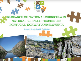 FIRST RESULTS OF THE ESTEAM PROJECT: E-BOOK - Natural Science Curricula Research in Portugal, Norway