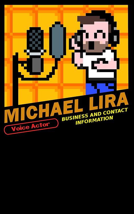 Michael Lira Business Card Front (no sea