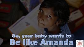 My Baby Wants to Be Like Amanda