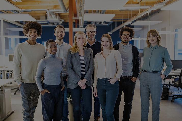 Diverse team of expert associates that help communities