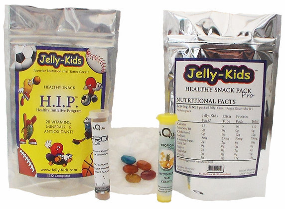 Jelly-Kids Snack Pack PRO