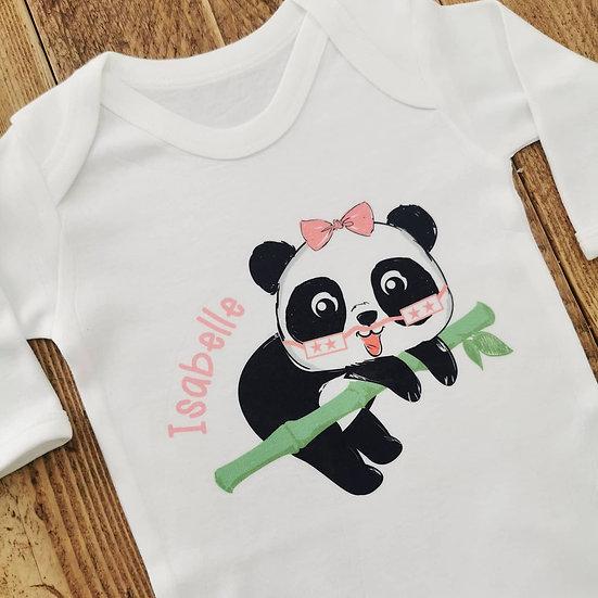 3-6m Personalised Babygrow
