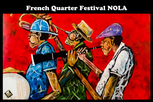 French Quarter Festival Posters