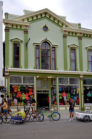 Busy Shop Windows