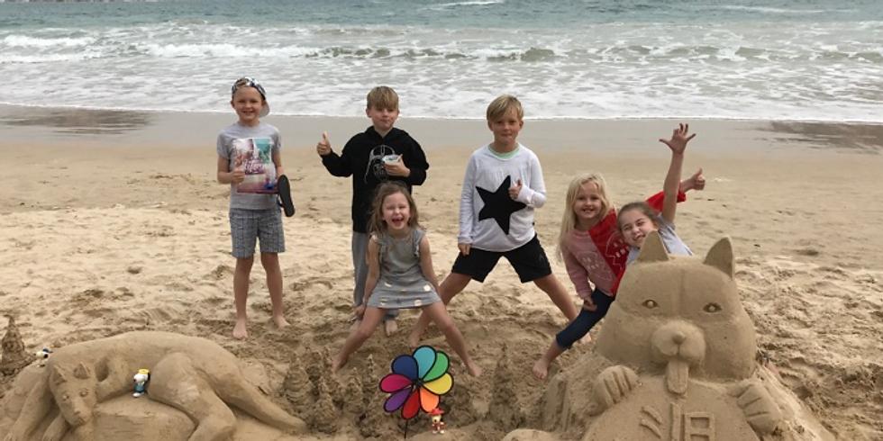 Summer Sandcastle Fun Day 小家庭大沙堡FUN享日
