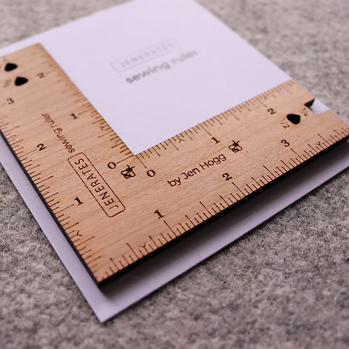 Jenerates Sewing Ruler for quilters!