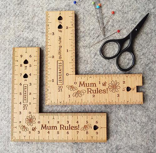 Bespoke Rulers